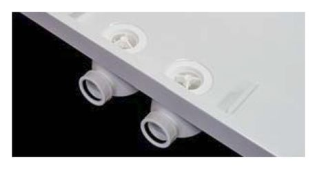 ROLTECHNIK PRESTOL sifón vaničkový 60mm, dvojitý, biely, 8100300