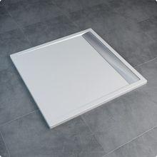 SANSWISS ILA 90cm sprchová vanička štvorcová, liaty mramor