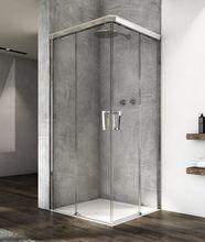 SANSWISS CADURA CAE2 70cm ľavé dvere do kombinácie / sprchový kút rohový, profil chróm, sklo číre, CAE2G0705007