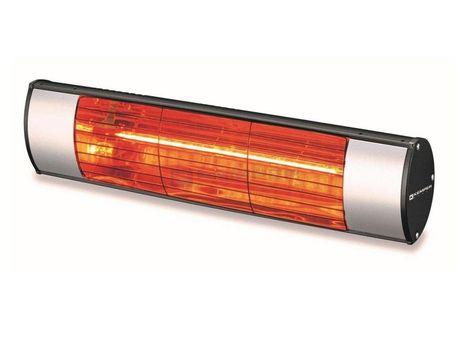 SAPHO SOLEADO infražiarič nástenný, strieborný, 65437KW15